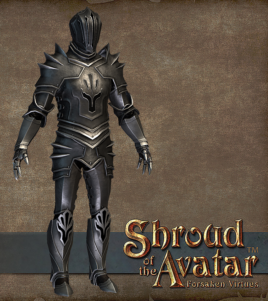150k IGG/$15PP Obsidian Order Plate Armor (salvage for eternal plate armor patterns)  sc 1 st  Shroud of the Avatar & WTS Livestream/Bundle Armor Sets (Obsidian Flame Elven Clockwork ...