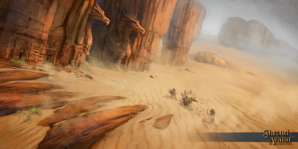SotA Forgotten Desert
