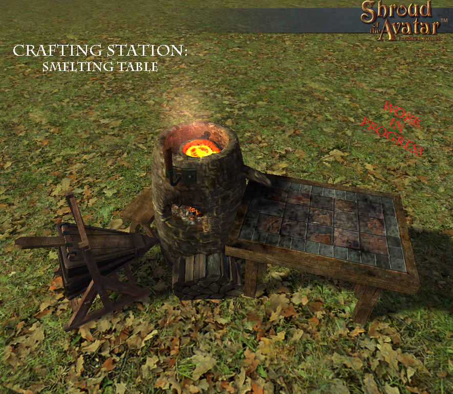 Smelting Table