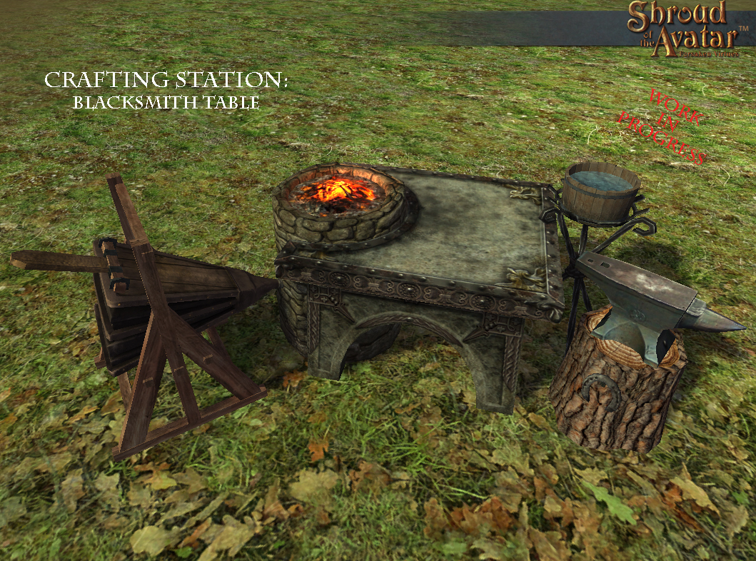 Blacksmith Table