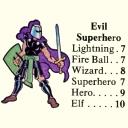 Evil Superhero