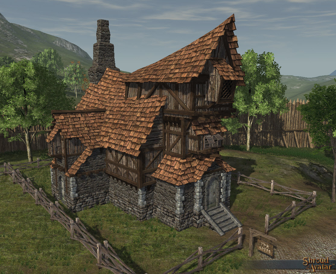 SotA_Rustic_3-Story_Village_Home