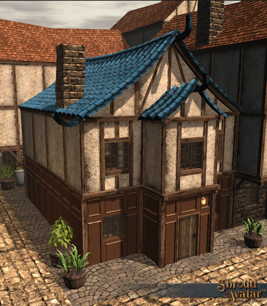 SotA_BlueTileRoof_2Story_Row_home_small