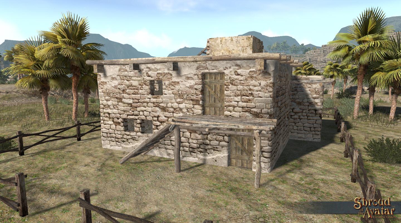 SotA_Adobe_Brick_Two-Story_RoofAccess_village