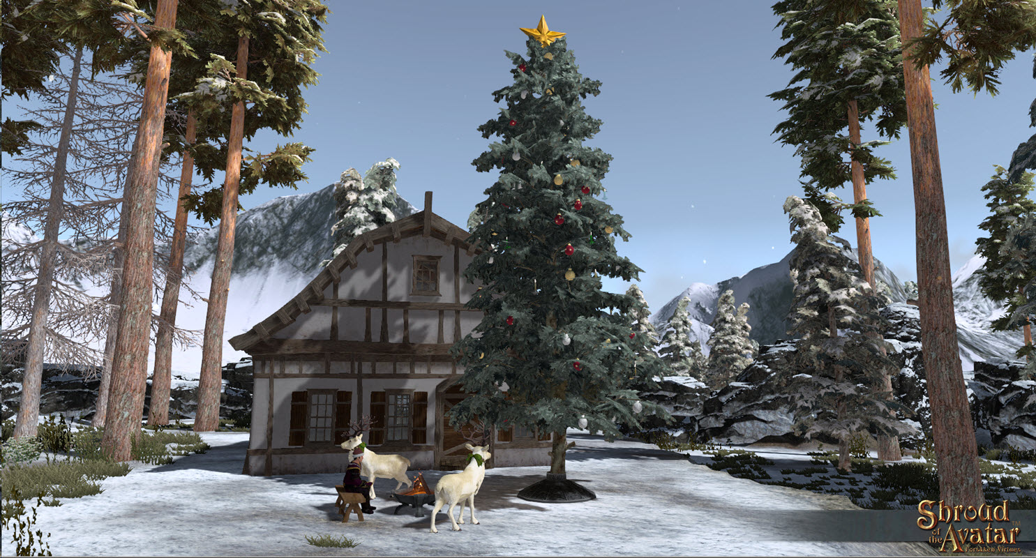 Outdoor Christmas Scenes Of Release 24 Instructions Shroud Of The Avatar