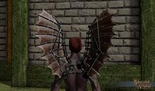 Leather Clockwork Wings