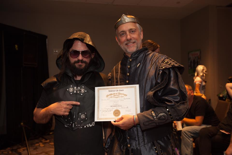 richard garriott hijinks ama dragon con wedding and