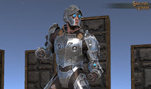 Silver Clockwork Armor