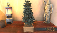 Tabletop Blue Spruce Tree 3-Pack