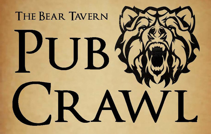 Bear Tavern Pub Crawl