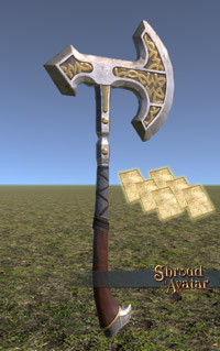 Ornate Norgard Axe Pattern Pack