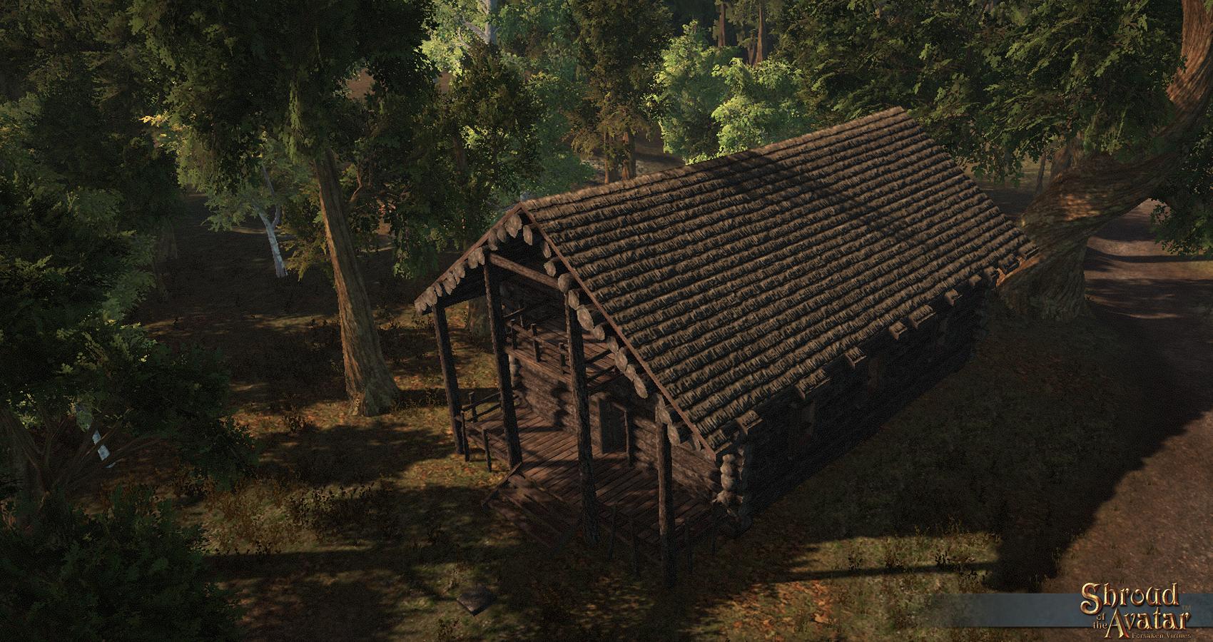 Avatar S Update 261 New Log Homes Shroud Of The Avatar