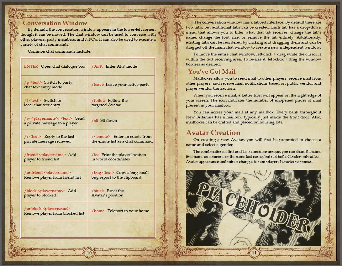 Shroud of the Avatar Manual | Shroud of the Avatar Forum