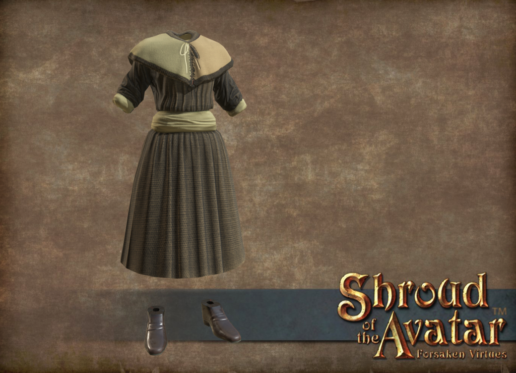 81f0fd486a0c Avatar's Update #280: Female Peasant Wearables | Shroud of the Avatar